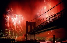 Celebration - Brooklyn Bridge - New York City