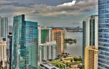 Miami skyline wallpaper - Miami