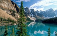 Wenkchemna Peaks and Moraine Lake - Valley Ten Peaks - Canada