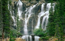 Tangle Creek Falls - Jasper National Park - Canada