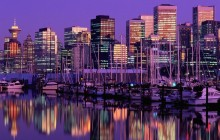 Vancouver at Dusk - British Columbia - Canada