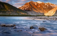Twilight, Alsek River - British Columbia - Canada
