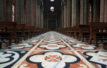 The Marble Floor of the Duomo - Milano - Italy