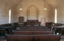 Methodist Church Interior - Bodie - California