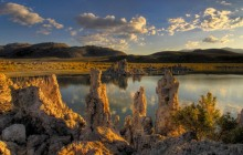 Last Light on Mono Lake - California