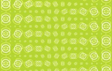 Granny Smith apple pattern wallpaper - Green