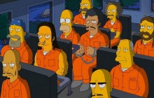 Homer Simpson in prison