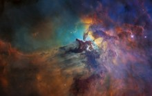 Lagoon Nebula (Visible-light View) - Space