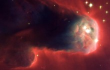Star-Forming Pillar of Gas and Dust - Space
