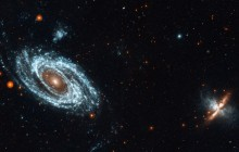 GALEX View of M81-M82 Group - Space