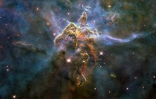Mystic mountain, Pillars in the Carina Nebula from Hubble - Space