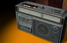 Radio cassette recorder wallpaper