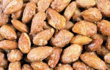 Coated almond