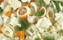 Salad with cauliflower