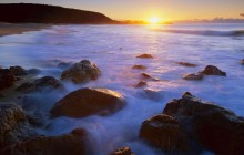 Rocky Seashore at Sunrise - Australia