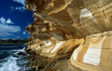 Painted Cliffs - Maria Island National Park - Australia