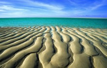 Sand Ripples at Low Tide - Broome's Cable Beach - Australia