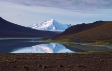 Mirrored Mountain in the Andes - Bolivia