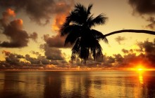 Aitutaki Lagoon at Sunrise - Cook Islands