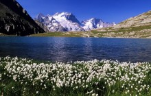 Lake Goleon in Oisans Massif and La Meije - Hautes-Alpes - France