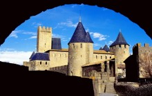 Comtal Castle - Carcassonne - France