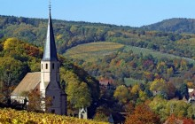 Church of Andlau - Alsatian Wine Road - Alsace - France