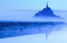 Mont St. Michel at Dawn - Normandy - France
