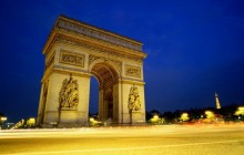 Arc de Triomphe at Night - Paris - Paris