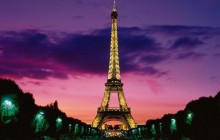 Eiffel Tower at Night - Paris HD - Paris
