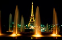 Eiffel Tower at Night - Paris  HD wallpaper - Paris