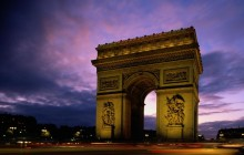 Arc de Triomphe at Dusk - Paris - Paris