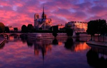 Notre Dame at Sunrise - Paris - Paris