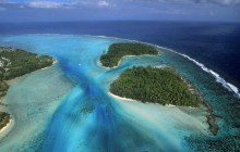 Fluidity - Moorea Island From Above - French Polynesia