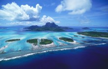 Reefs of Bora Bora - French Polynesia