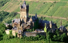 Reichsburg Castle - Mosel Valley - Germany