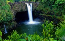 Rainbow Falls - Big Island - Hawaii