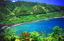 Road to Hana - Turquoise Lagoon - Maui - Hawaii