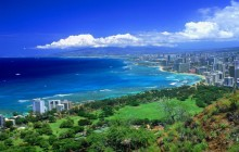 View From Diamond Head - Oahu - Hawaii