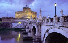 Castel Sant'Angelo and Bridge - Rome