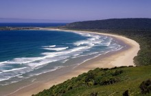 Tautuku Beach - As Seen From Florence Hill Lookout - New Zealand