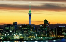 Evening Glow - Auckland - New Zealand