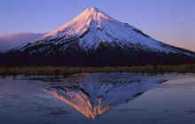 Mount Taranaki HD wallpaper - New Zealand