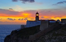 Lighthouse at Sunset - Cabo de Sao Vicente - Portugal