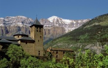 Torla in Ordesa National Park - Huesca Province - Aragon - Spain
