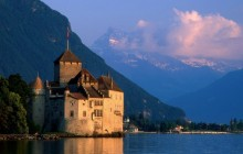 Chillon Castle HD wallpaper - Switzerland