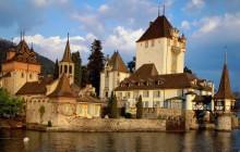 Oberhofen Castle - Lake Thun - Switzerland