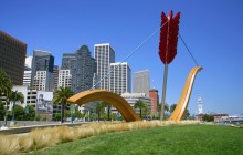 Cupid's Span - Rincon Park - Along the Embarcadero - San Francisco