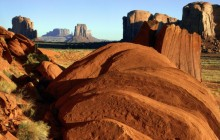 Sandstone Formations in Monument Valley - Arizona