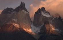 Peaks - Torres del Paine National Park - Chile