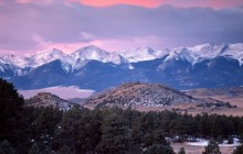 The Sangre de Cristo Range - Colorado